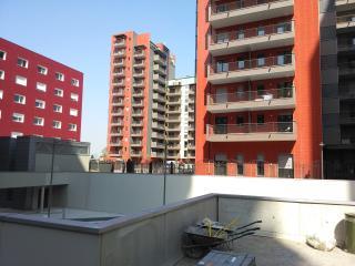 monolocale con 2 posti letto e vista panoramica, Milaan