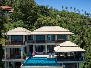 The Lookout , Samui - Luxury Villa with driver and private car service .