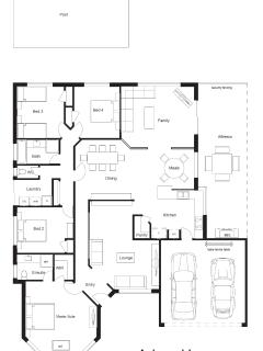 Adare House - Floor Plan (Select your bedroom before you arrive).