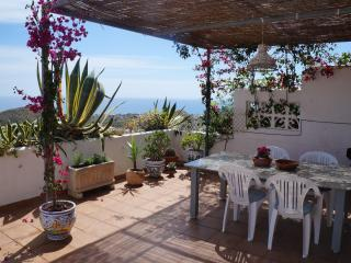 Apartment with large terrace and panoramic views, Mojácar