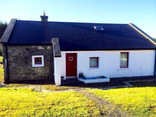 Heaven on a hillside, cosy stone cottage, Achill, Dugort