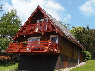 Red Kite Lodge. Scottish Tourist Board 4 Star, Sandyhills