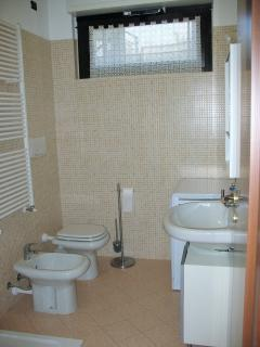 Bagno con ampio box doccia, bathroom with large shower