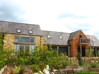 It's a first floor apartment located in newly converted outbuildings on a peaceful countryside farm