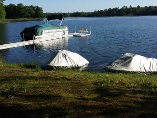Northwoods Lake Home/Cabin Oak Lake Webster WI