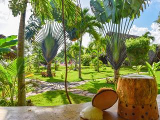 Chalet Tropical Village B&B : garden view