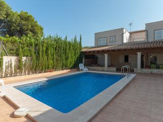 Villa Gloria in Cala pi with pool and terrace., Llucmajor