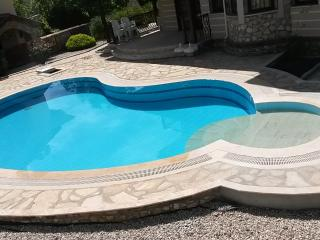 Pool now features walk in steps for summer 2015