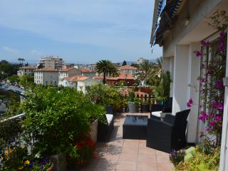 Appartement au port, terrasse, parking, vue mer, Niza