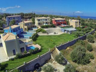 Carme Villas. 12 Villas with private swimming pool restaurant playground.