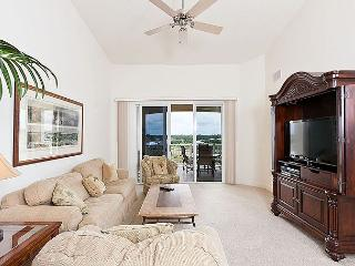 Cinnamon Beach 1062, Penthouse 6th Floor, new HDTV, 2 heated pools, wifi, spa, Palm Coast