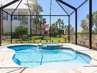 Cinnamon Beach Dancing Dolphin, 6 bedrooms, elevator, private pool, spa, hdtv, Palm Coast
