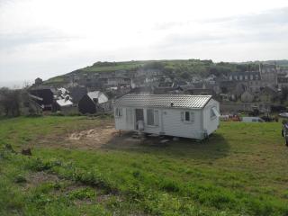 mobilhomme, Port-en-Bessin-Huppain