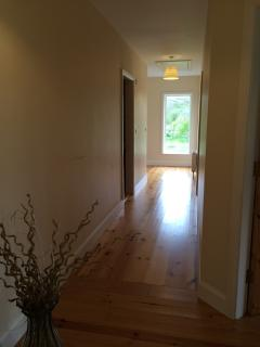 Long Hallway to master bedroom