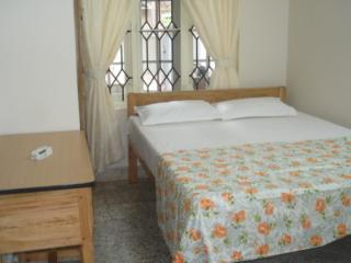 Ground floor two bedroom apartment queen size bed