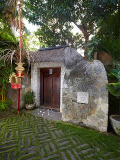 Entrance to Villa Red Palms, Bali