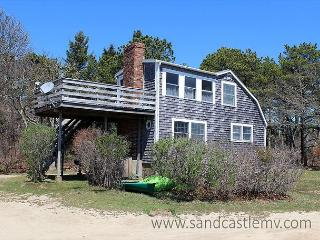 WONDERFUL, INFORMAL COTTAGE STYLE HOME WITH ECLECTIC FURNISHINGS OVERLOOKING