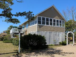 ENJOY WATERVIEWS AND WALK TO THE BEACH FROM THIS LOVELY HOME.