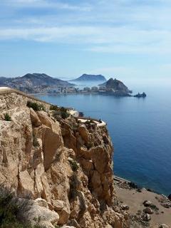 View from Castillo St Juan