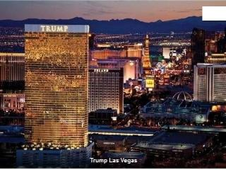 Trump Studio 1 king Bed 600sqf 46th Floor, Las Vegas