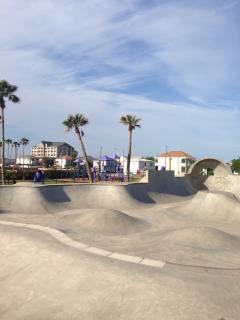 Skatepark nearby
