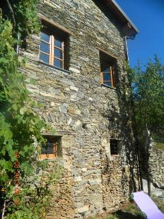 Traditional Stone Holiday Cottage  In Liguria, Ita