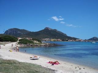 House on the beach in sunny Sardinia, Golfo Aranci