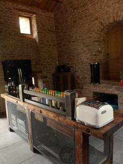 Un espace convivial pour cuisiner entre amis ou en famille
