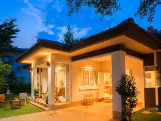 A new detached two bedroom luxury villa
