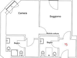 Bilocale 15, Maccagno
