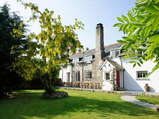 Huge Devon farmhouse, gardens, pétanque, kids den, pet friendly, on Dartmoor