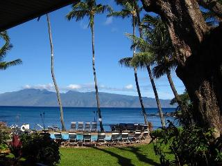 OCEANFRONT HONOKEANA COVE! SWIM WITH THE MANY TURTLES! LOWER, CORNER UNIT 2BR, Lahaina