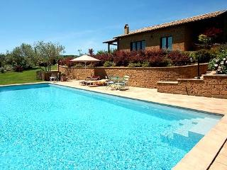 Detached villa with private pool near Bolsena lake