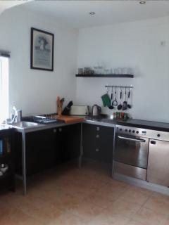 New fully fitted kitchen