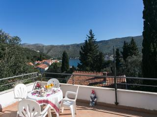 Apartments Tramonto - One Bedroom Apartment with Balcony and Sea View