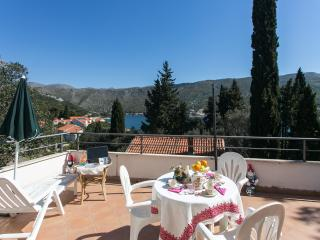 Apartments Tramonto - Studio Apartment with Balcony and Sea View