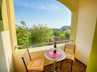 Pansion Nobel - Double Room with Balcony and Sea View 2, Buljarica