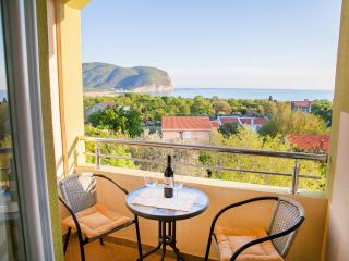 Pansion Nobel - Double Studio with Balcony and Sea View 11, Buljarica