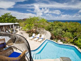 Deluxe villa with white sand beach access. MAV OTR, Virgin Gorda