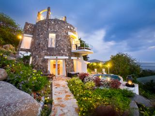 A sugar mill replica, this villa showcases creative architecture with a contemporary twist. MAV SUG, St. John