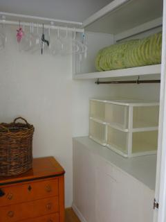 Plenty of closet and storage space