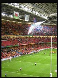 Millenium Stadium 5 mins in taxi