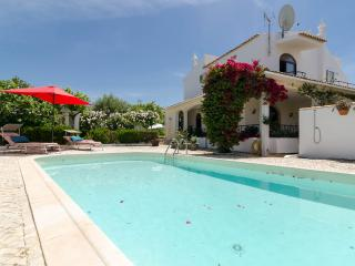 Villa with salt water pool, gated, near Vau beach