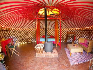 Yurt Amazing view over the valley, Faro