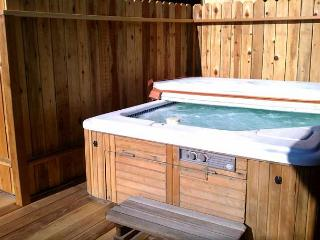 1 block to LAKE & VILLAGE! Hot Tub! Gameroom with Pool Table!