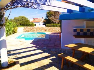 Stylish villa with pool near beach, Ciudadela