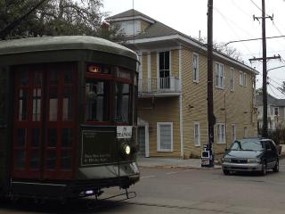 Unique residence On streetcar line, New Orleans