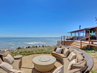 Spectacular oceanfront home with panoramic views from San Francisco, to Stinson