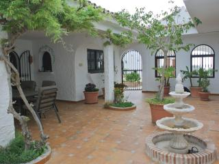 Inner courtyard with fountain