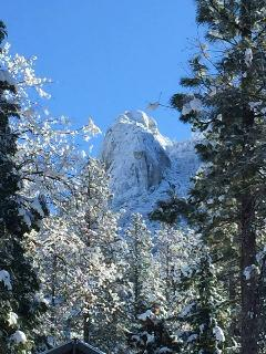 Winter view of Lilly Rock
